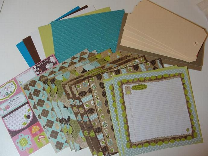 """Just A Boy"" Self Made Envelope Pocket Mini Album Kit"