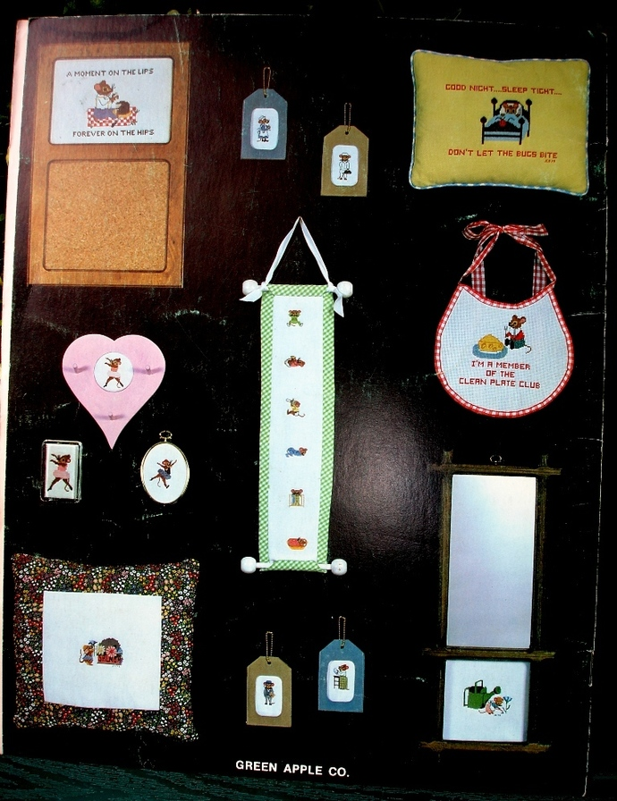 Mouse Creations Counted Cross Stitch - Book ll