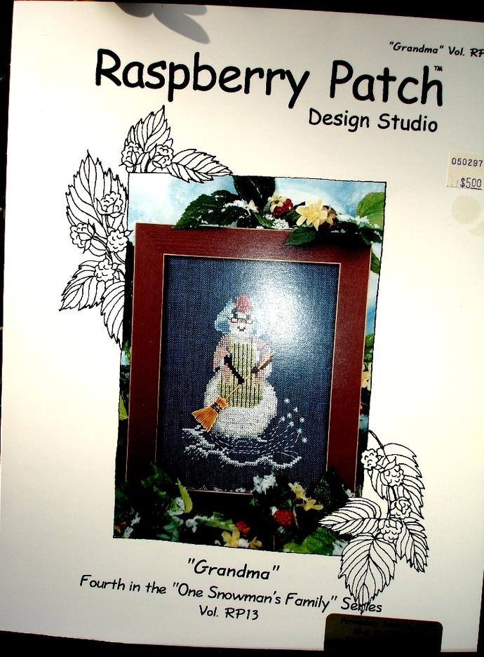 Counted Cross Stitch Grandma By Raspberry Patch Design Studio