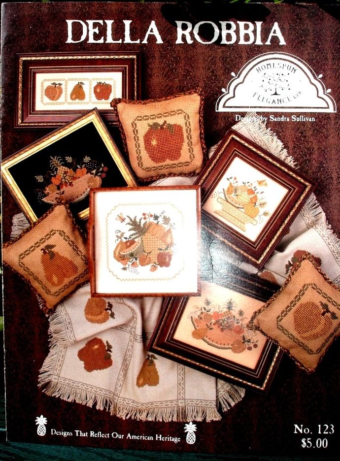Della Robbia American Heritage Counted Cross Stitch Patterns Book No. 123