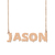 Custom Jason Name Necklace Personalized Gift for Halloween Easter Christmas