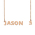 Custom Jason~3 Name Necklace Personalized Gift for Halloween Easter Christmas