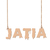Custom jatia Name Necklace Personalized Gift for Halloween Easter Christmas