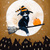 The Pumpkin Delivery Original Cat Folk Art Painting