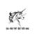 Unicorn design vector graphics format Svg Png Pdf Eps Dwg Dxf digital files