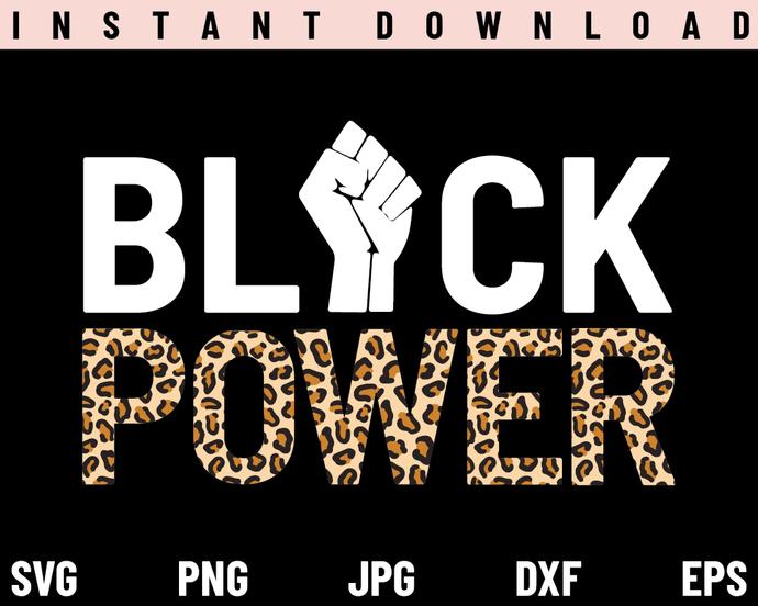 Black Power SVG, African American SVG, Black Pride SVG, Afro SVG, PNG, DXF,