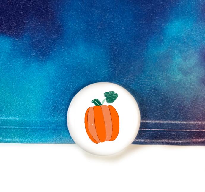 Pumpkin Day Art Button