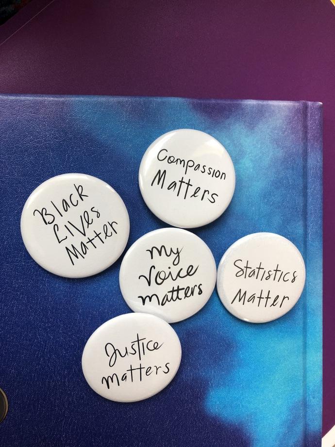 All Matters Button Pins