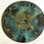 Decorative/Hot Painted Glass Plate with Feet