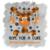 Multiple Sclerosis Awareness, Hope for a cure, Holiday orange buffalo Plaid