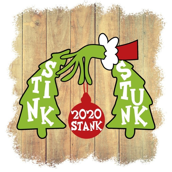 Stink Stank Stunk, 2020 Christmas Isn't Canceled, Inspired by Grinch, Christmas,