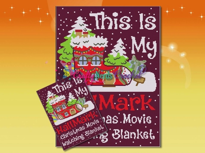Hallmark Movie Blanket Pattern Graph With Single Crochet Written