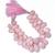 Pink Opal Faceted Baddam Beads,Pink Opal Heart Shape Beads,Pink Opal Teardrop