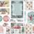 Winter Wonderland Loaded Pocket, Junk Journal Printable Happy Mail