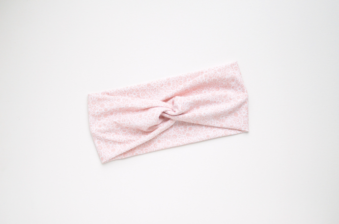 Boho Twist Headband - Blush Fields