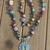 The Calm Inner Knowing Necklace, Captivating Multi Gem Necklace, Beaded