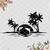 Beach and Dolphin Scene SVG,Dolphin svg