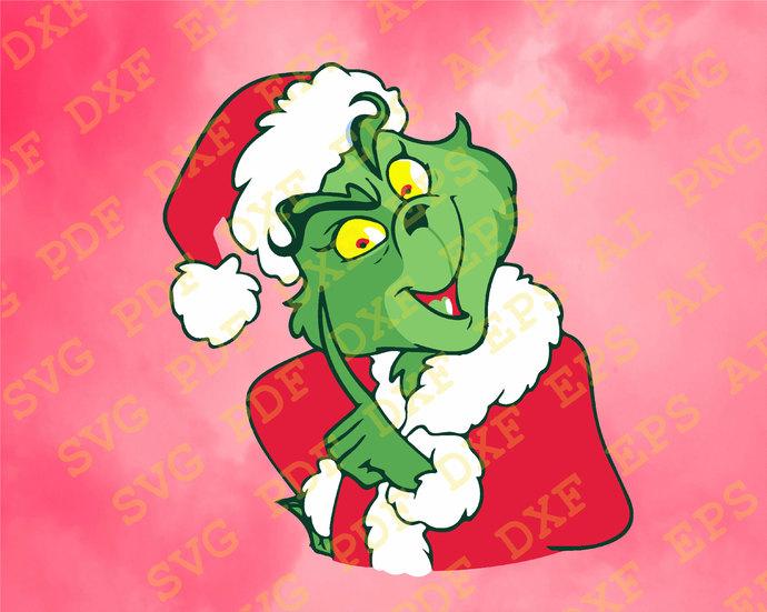 Grinch Svg Cut Files Grinch Bundle Svg Grinch Shirt Grinch Hand Grinch Face