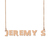 Custom Jeremy's Name Necklace Personalized Gift for Halloween Easter Christmas