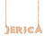 Custom jerica Name Necklace Personalized Gift for Halloween Easter Christmas