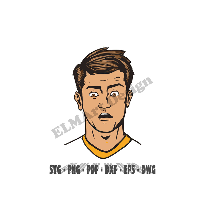 Sexy Man Surprised Look Clipart 6 Format Files Vector Svg Png Pdf Eps Dwg Dxf