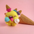 Scoopsie Scoop Madness, ice cream scoop felted toy, felted Toy Art, handmade art