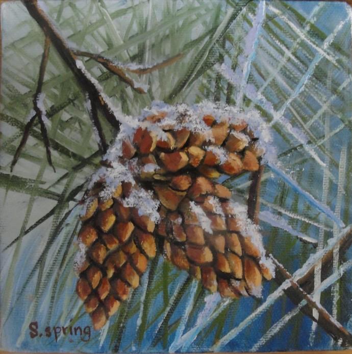 Still Life, Nature, Handmade, Home Decor, Home & Living, Oil Painting, Original,
