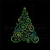 Merry Christmas Tree Embroidery Machine Designs Instant Digital Download Pes