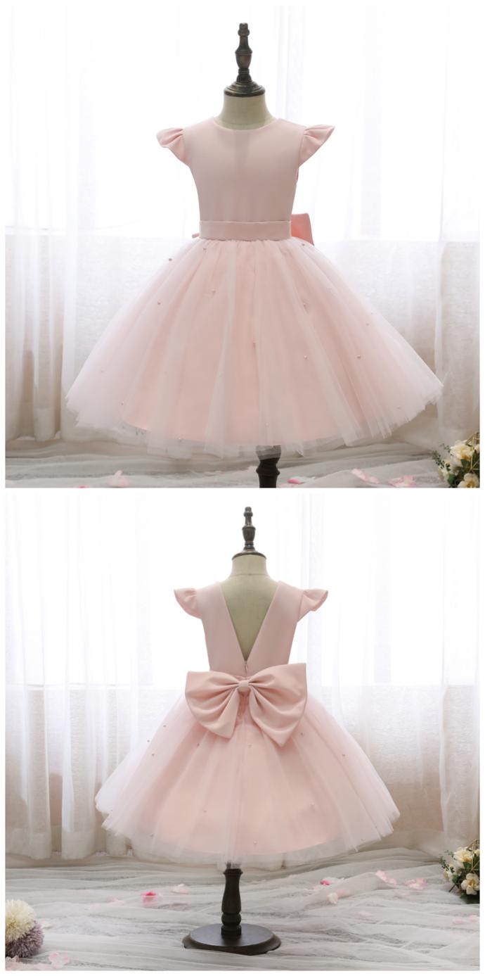 Flower Girl Dresses Kids Flower Girl Dresses Birthday Puffy Princess Dress Girls