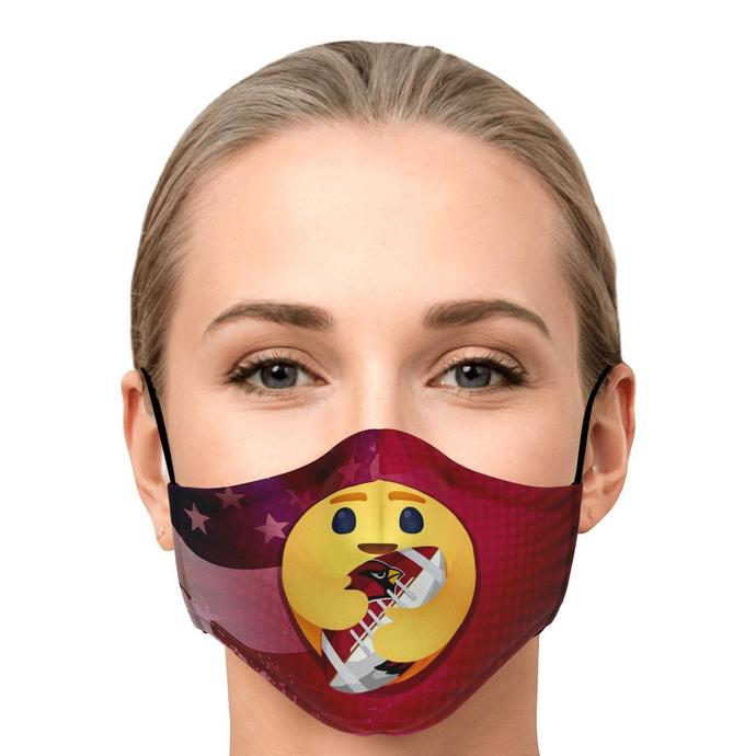 America Is My Home Arizona Cardinals Is My Love Face Mask, Adult Face Mask,