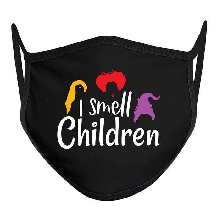 I Smell Children Mask, Disney Halloween Mask, ADULT Disney Face Mask, Hocus