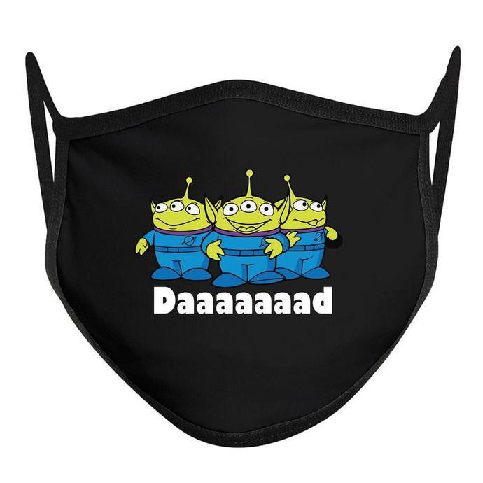 Face Mask Daaaaad Toy Story, Disney World Mask, Disney Face Mask, ADULT Disney