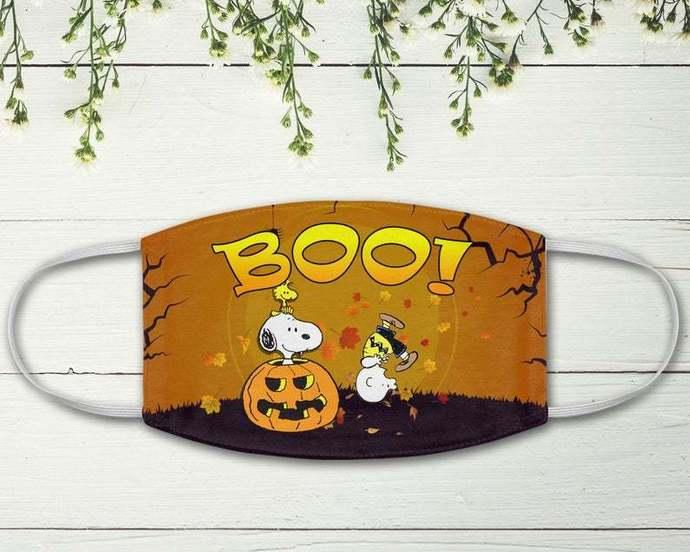 Snoopy Woodstock Boo Jack O Lantern Mummy, Charlie Snoopy Happy Halloween,