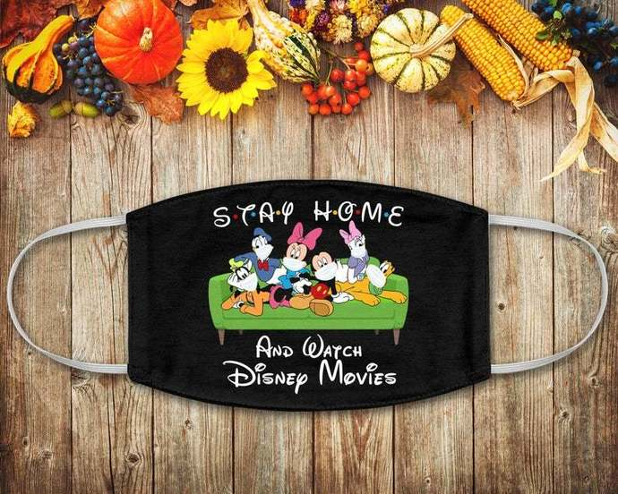 Disney Movies Friends Shirt, Stay Home, Masks Wearing, Social Distancing, Disney