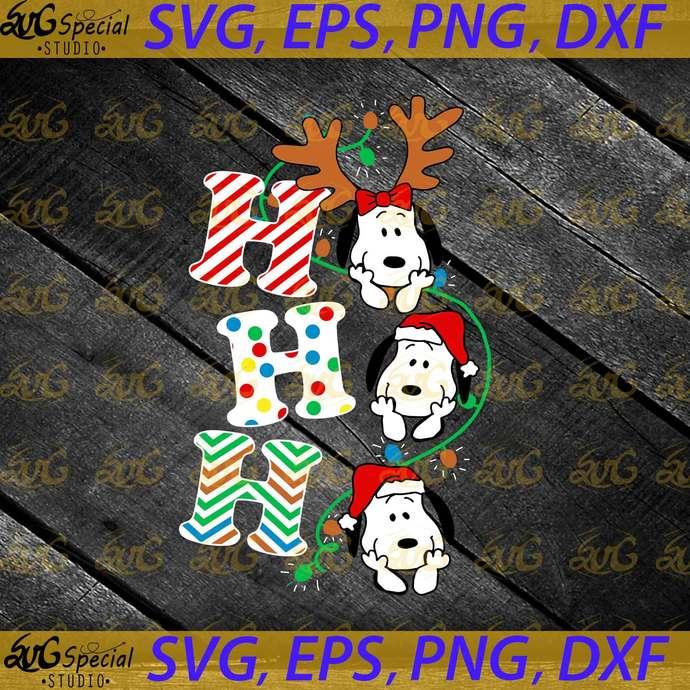 HO HO HO Snoopy Svg, Simba, Nala, Timon, Pumbaa, Cute Disney Svg, Christmas Svg,