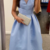 Charming Blue A-Line Prom Dresses, Prom Gown,Sexy Party Dress,Formal Dress,Cheap