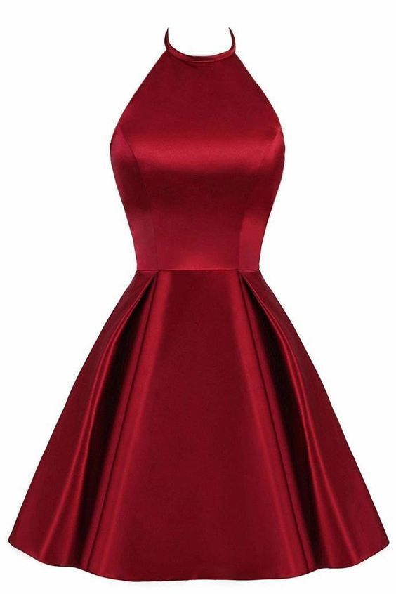 Lovely Halter Short Prom Dress,Cute Homecoming Dress,Formal Dress,Cheap Prom