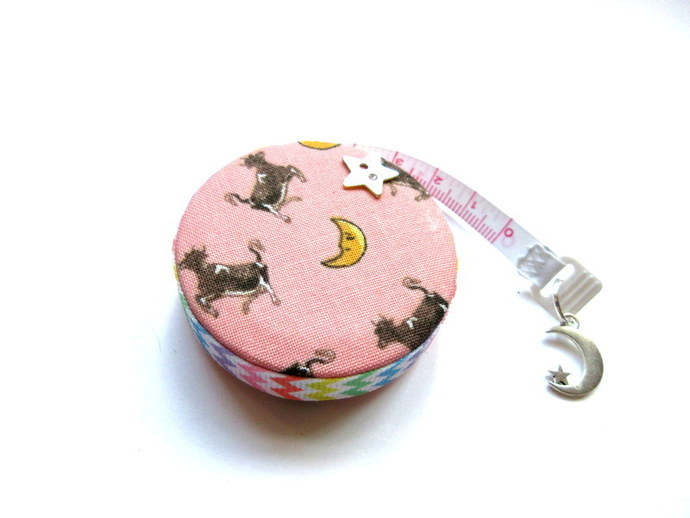 Tape Measures Cows Jump Over The Moon  Small Retractable Measuring Tape