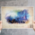 Destiny - The Dreaming City Watercolor Abstract Art Print