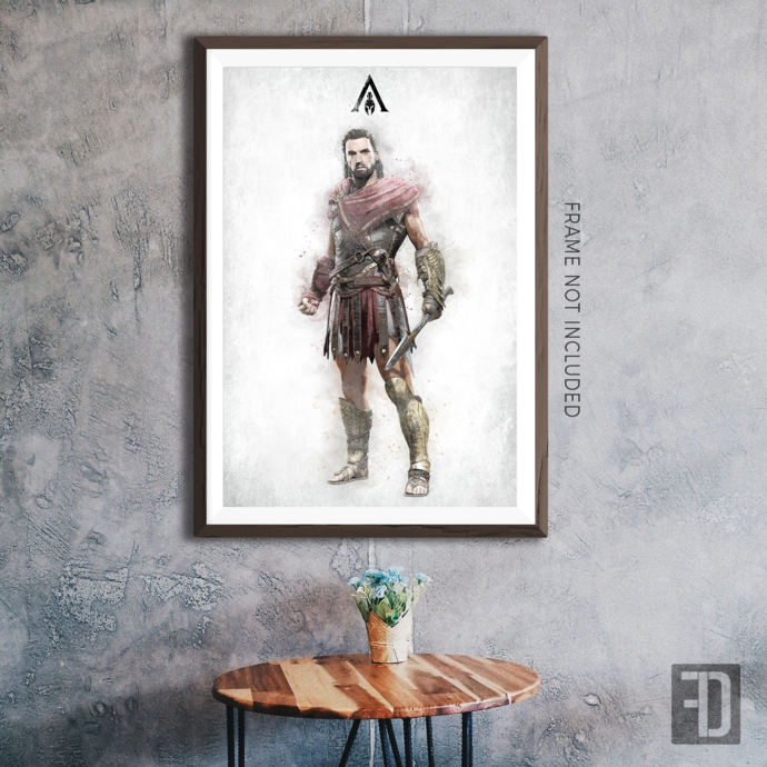 Assassin's Creed Odyssey - Alexios Art Print