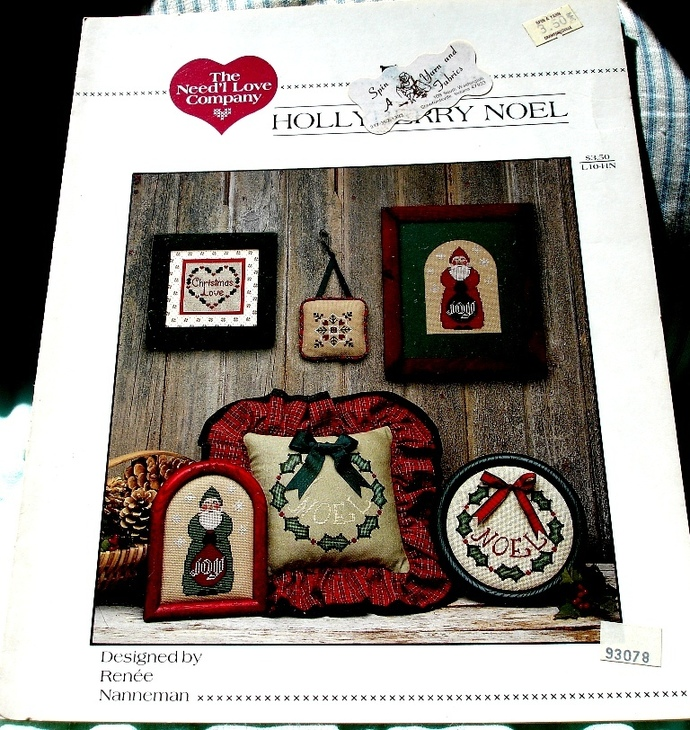 Holly Berry Noel by the Needl Love Company