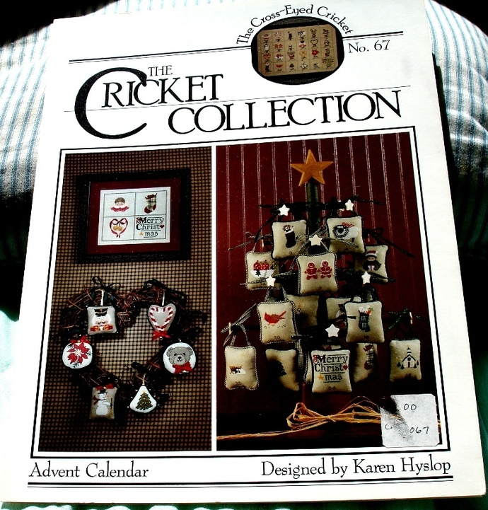 Advent Calendar By the Cricket Collection No. 67