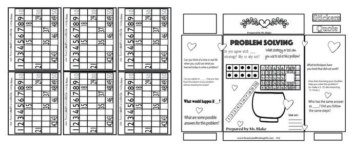 24  WAYS TO MAKE … Jamboard math printable kindergarten, first, and second grade