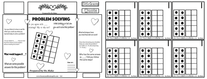 24  WAYS TO MAKE … Jamboard math printable kindergarten, first, and second grade