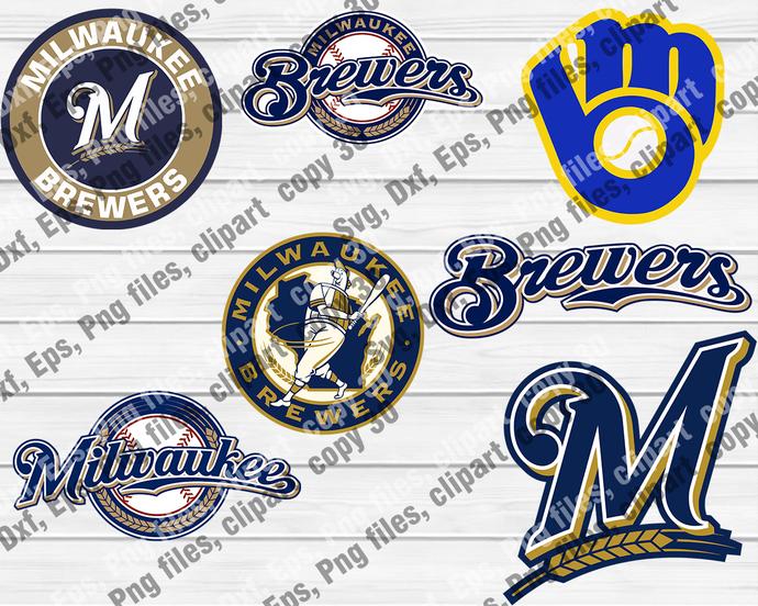MilwaukeeBrewers, MilwaukeeBrewers svg, MilwaukeeBrewers logo, MilwaukeeBrewers