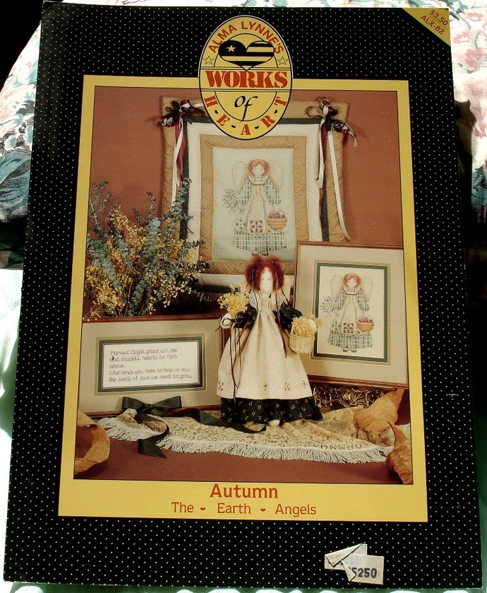 Autumn The Earth Angels By Alma Lynne Works Of Heart Cross Stitch ALX-82