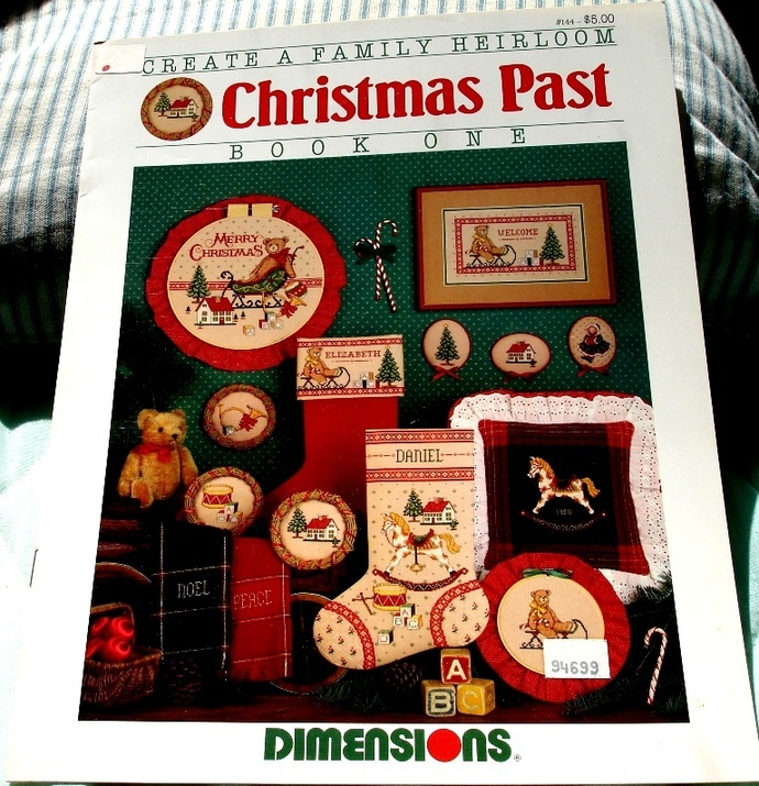 Christmas Past Book One By Dimensions No. 144