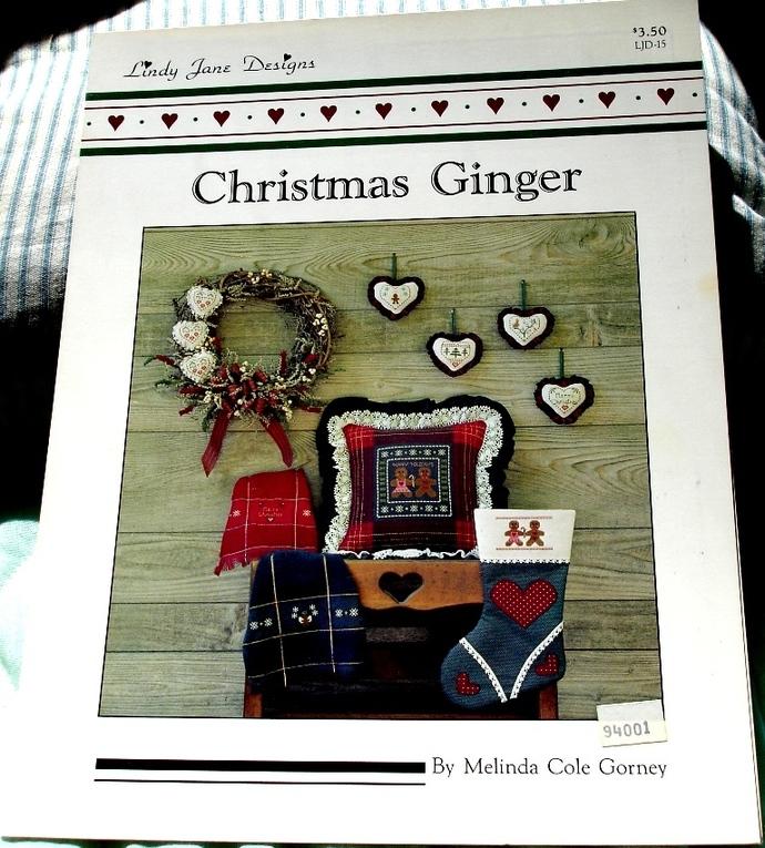 Christmas Ginger by Melinda Cole Gorney For Lindy Jane Designs LJD-15
