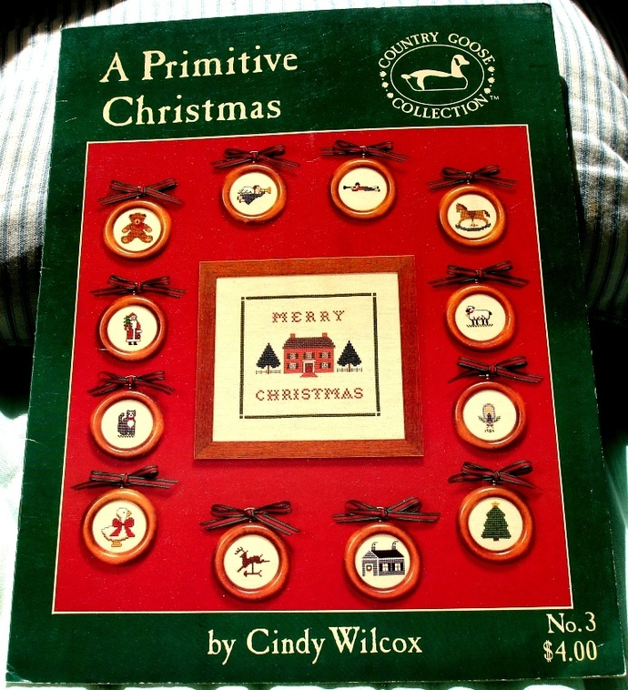 A Primitive Christmas By Cindy Wilcox For Country Goose Collection No. 3