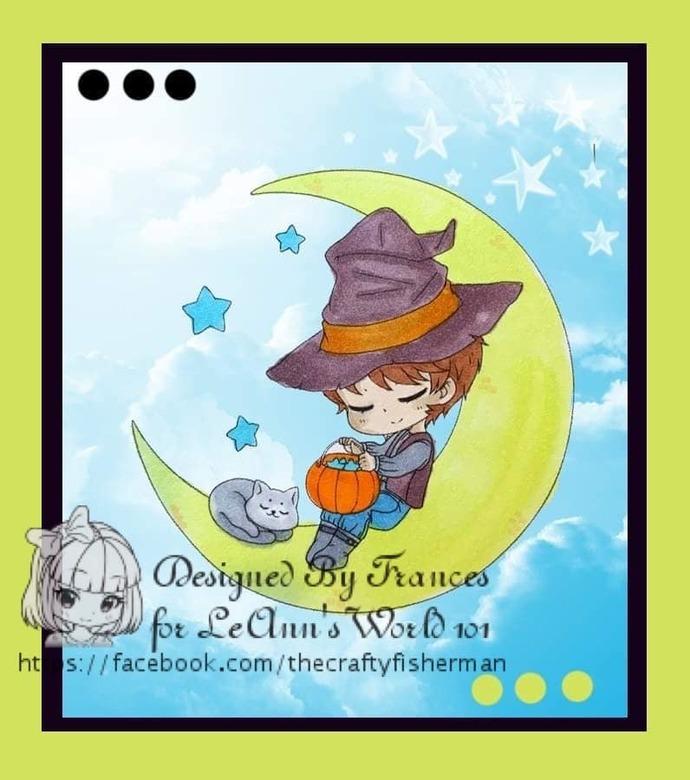 Halloween - Digital Stamp Set of 5